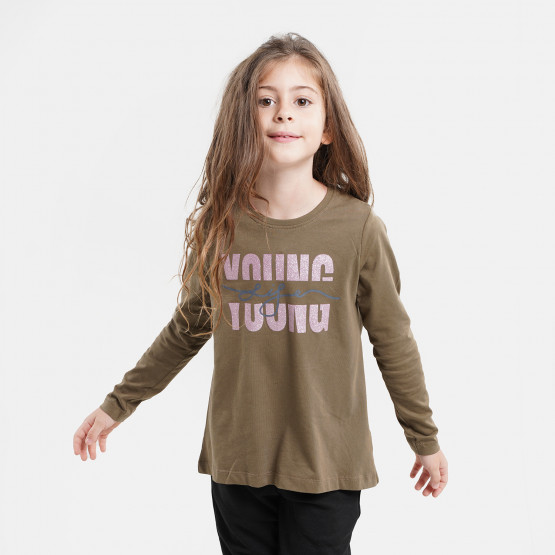 Name it Nkfviolet Kid's Blouse With Long Sleeves
