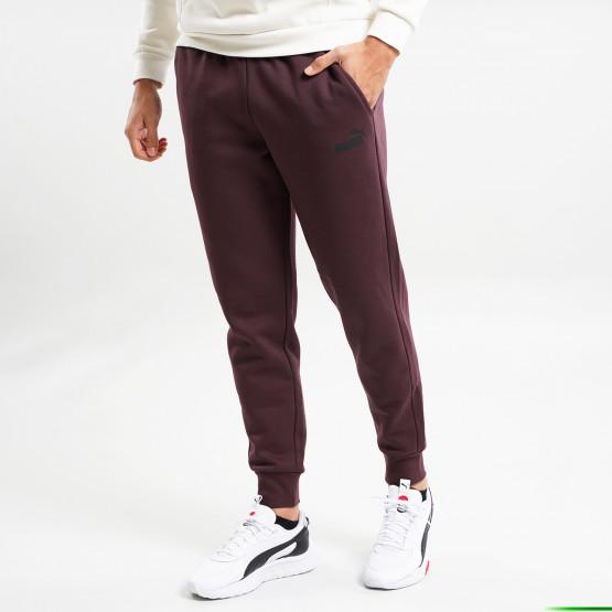 Puma Essentials Logo Fleece Ανδρικό Παντελόνι Φόρμας