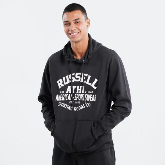 Russell Athletic Sportswear Ανδρική Μπλούζα με Κουκούλα
