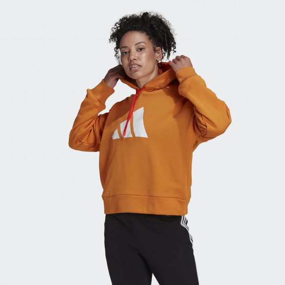 adidas Performance Future Icon Γυναικείο Φούτερ με Κουκούλα