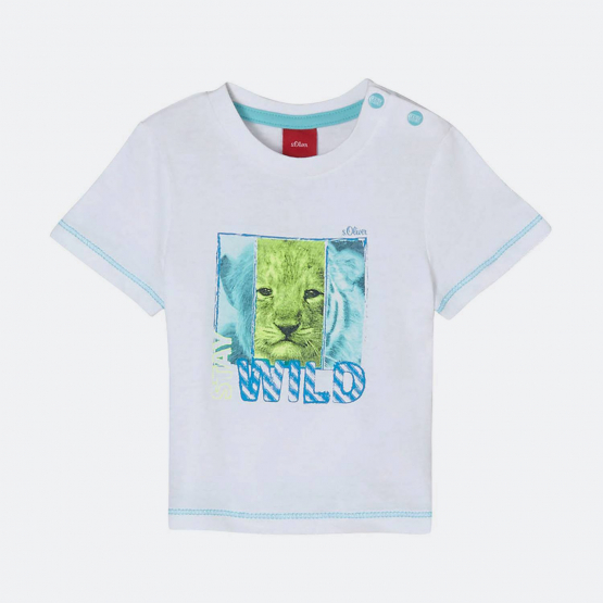 S.Oliver T-Shirt With Animal Print