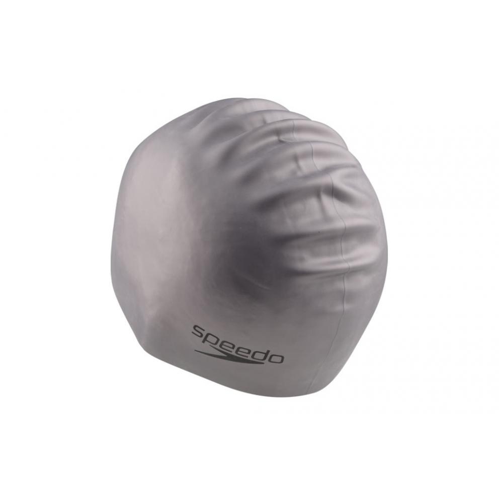 Speedo Plain Moulded Silicone Cap Σκουφάκι