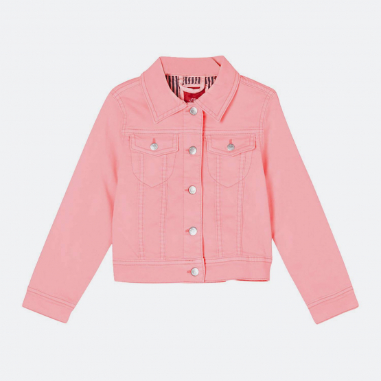 S.Oliver Lightweight Twill Jacket In A Neon Colour