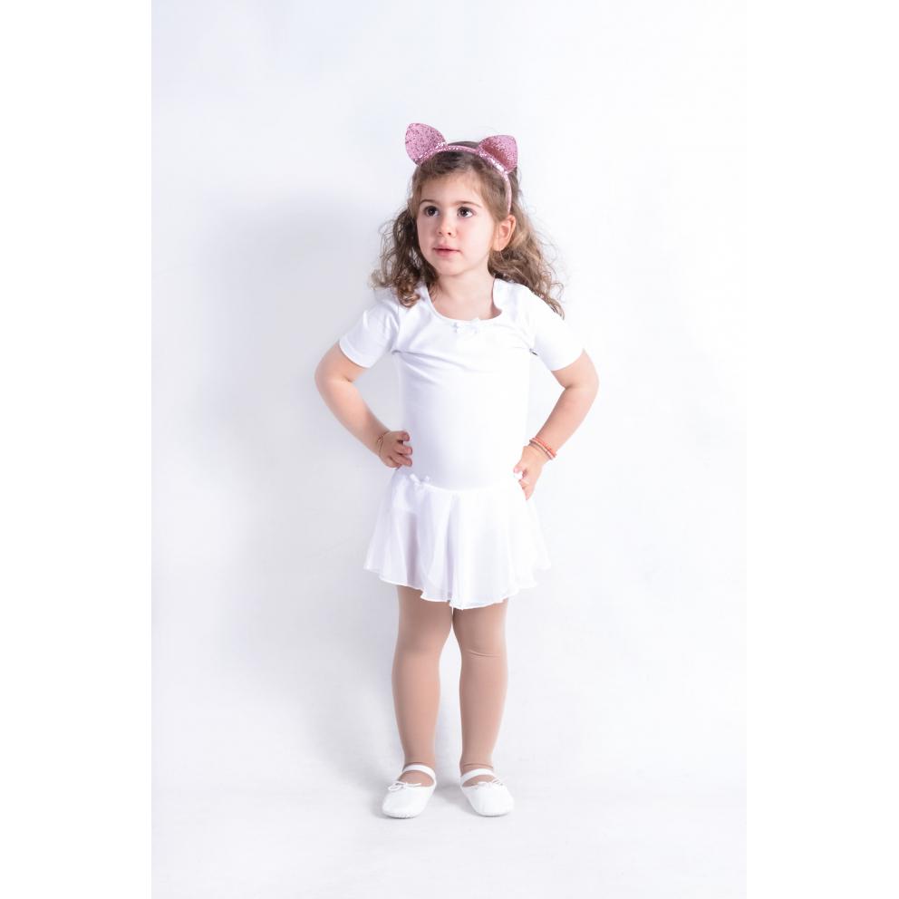 Go Dance Kids' Leotard with Skirt