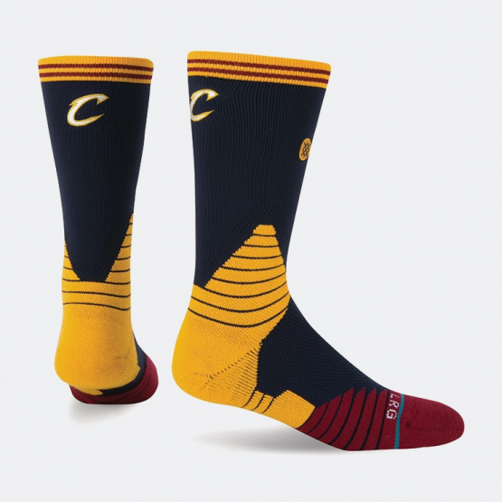 Stance Logo Crew Cavaliers NBA On Court Collection | Ανδρικές Κάλτσες