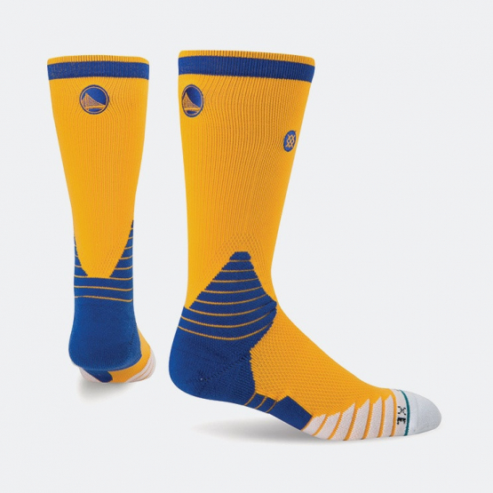Stance Logo Crew Warriors Nba On Court Collection | Ανδρικές Κάλτσες