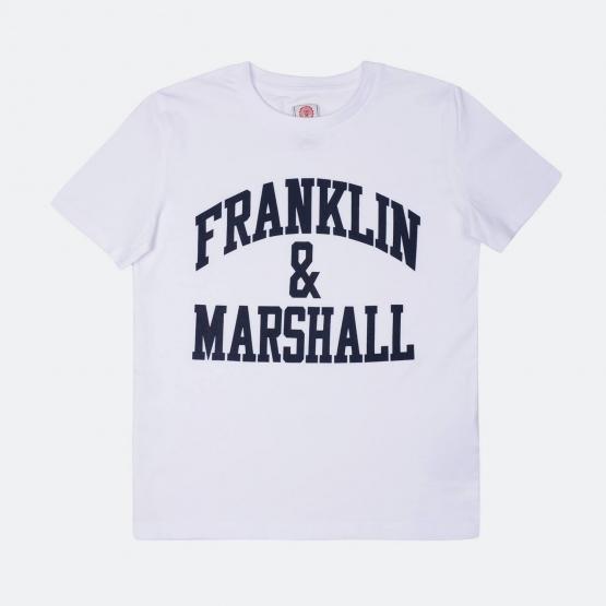 Franklin & Marshall F & M Cf Logo Tee   Παιδικό T-Shirt