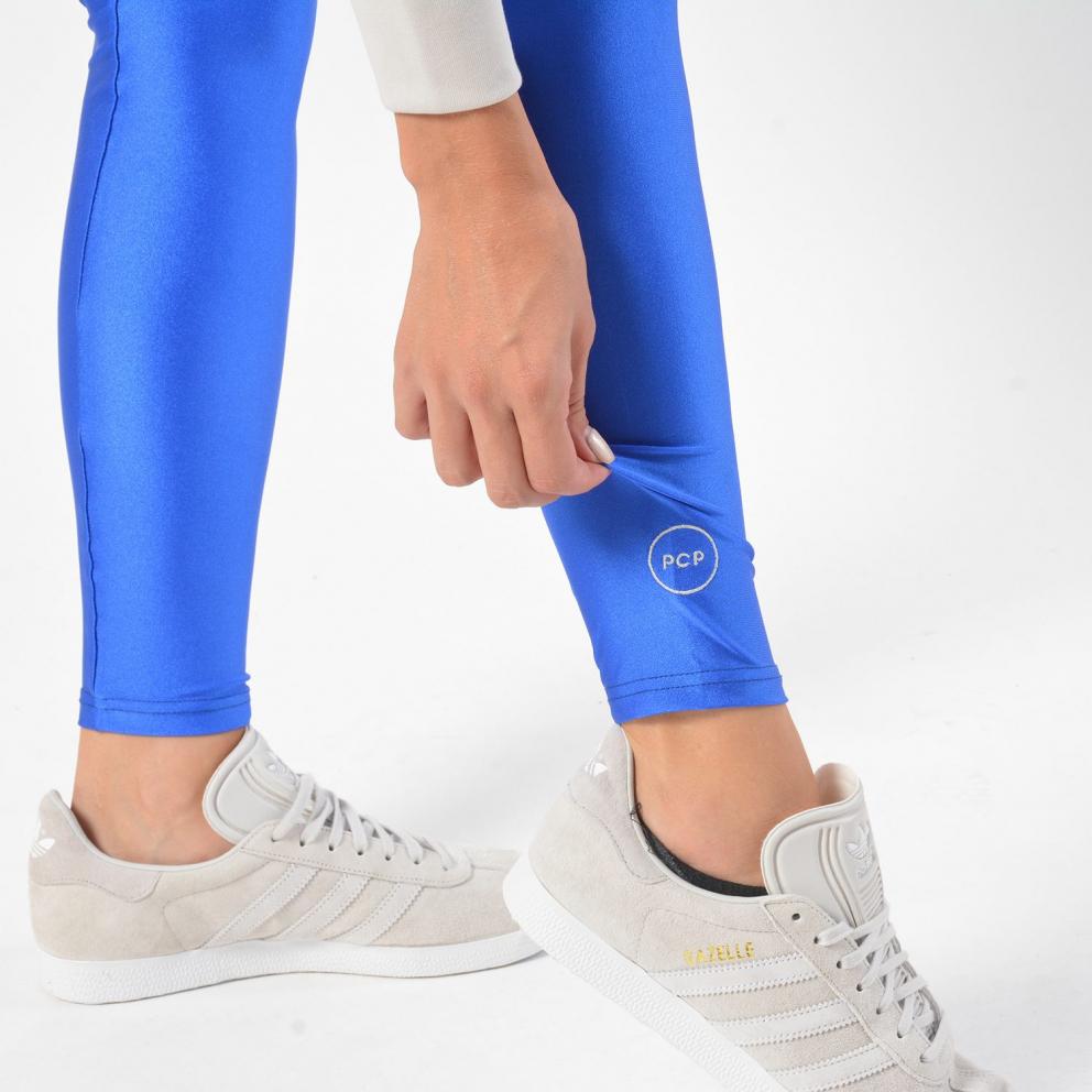 PCP Jacqueline Blue Shiny Leggings