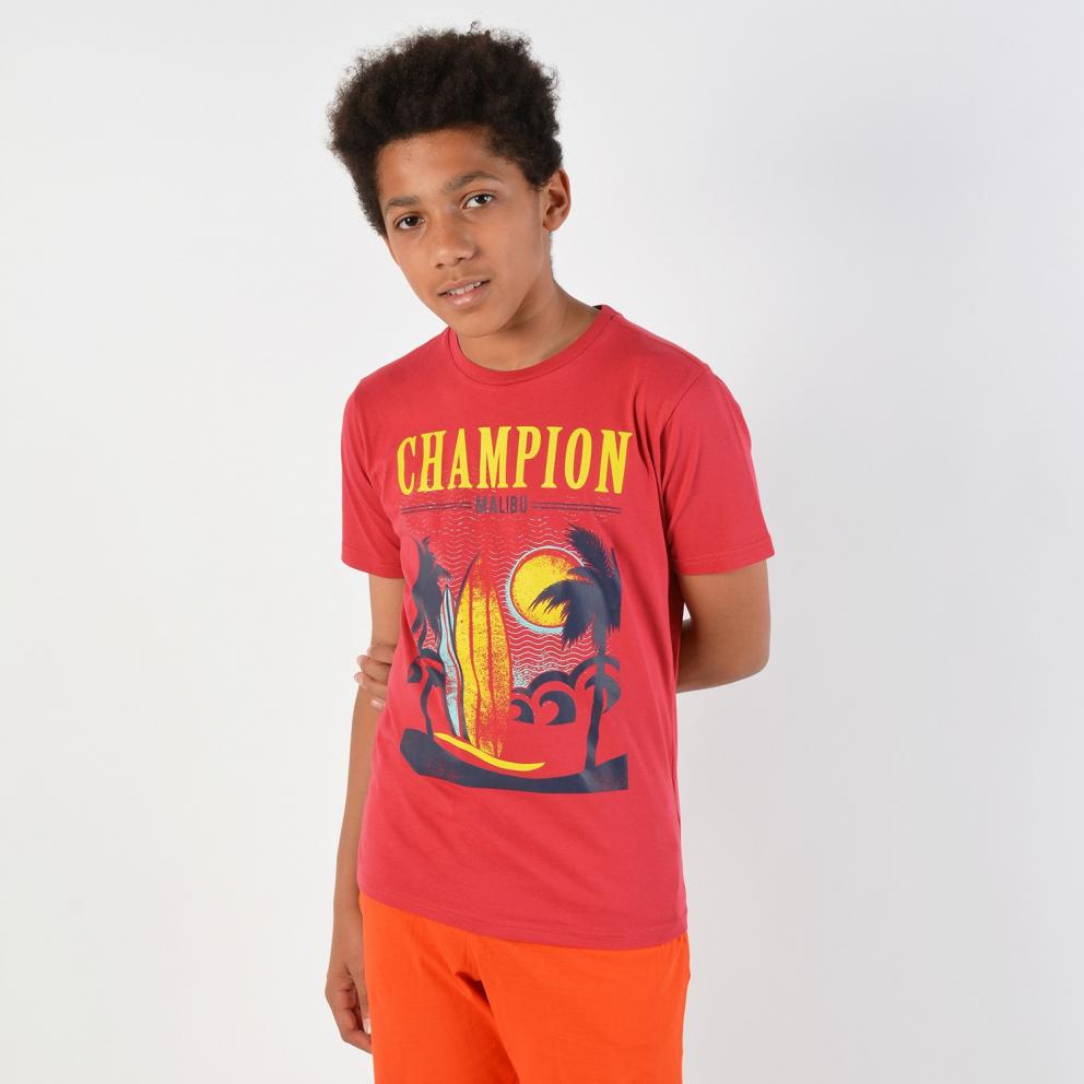 Champion Crewneck Kids T-Shirt - Παιδικό Μπλουζάκι