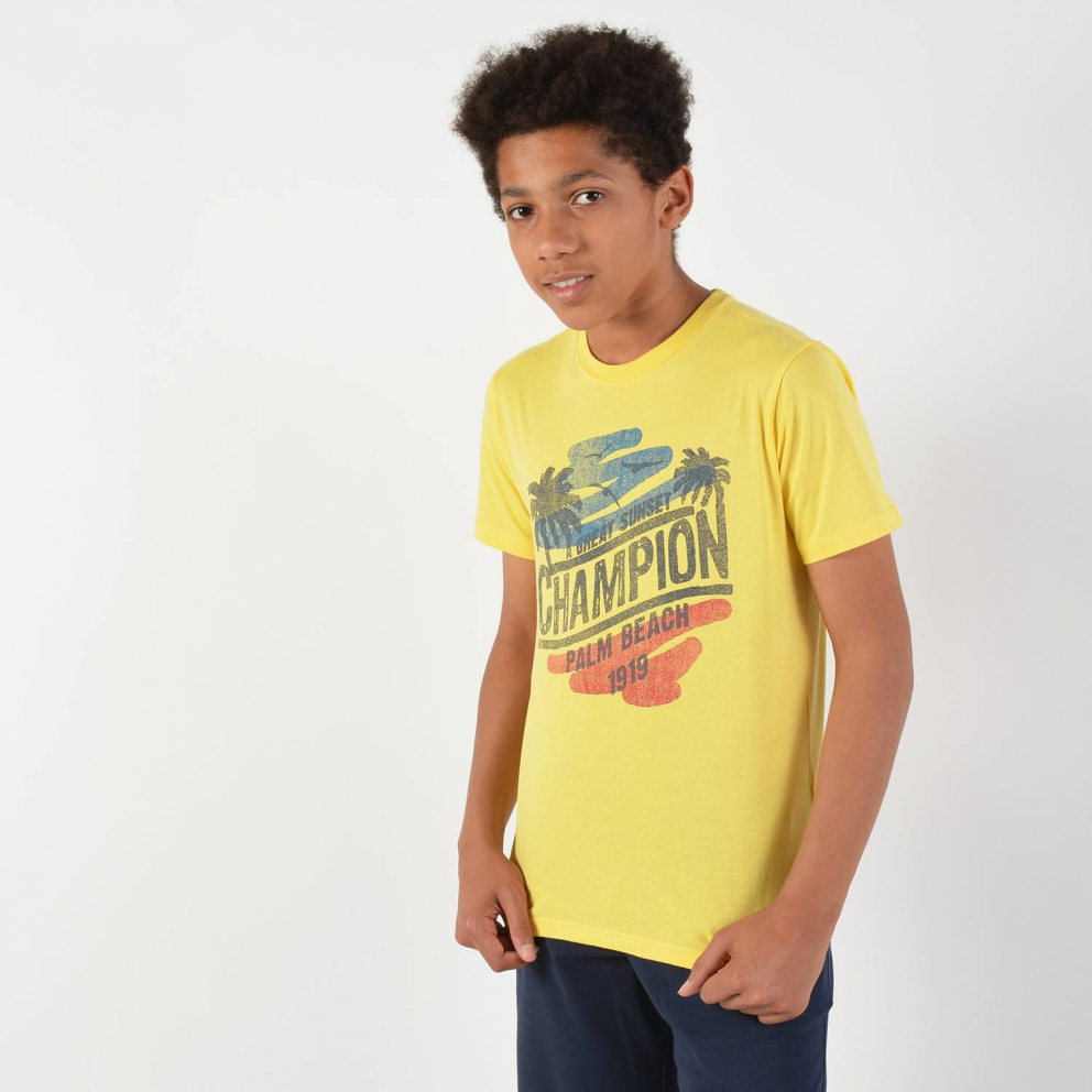 Champion Crewneck Kids T-Shirt