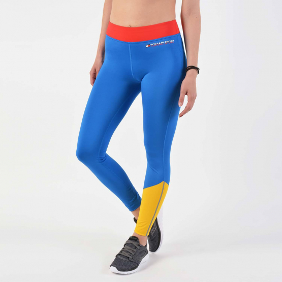 Tommy Sport Contrast Panel Stretch Leggings