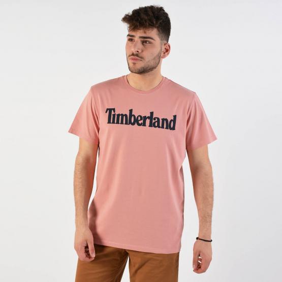 Timberland Men's Kennebec River Linear Logo T-Shirt