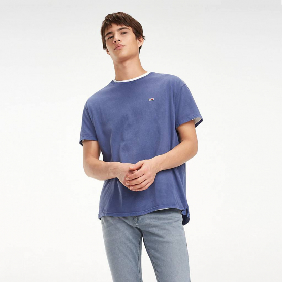 Tommy Jeans Organic Cotton Crew Neck T-Shirt