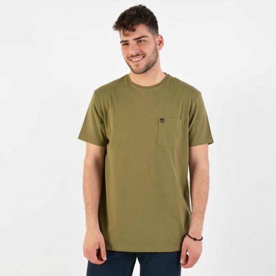 Timberland Men's Dunstan River Pocket T-Shirt - Ανδρική Μπλούζα