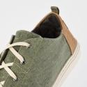 TOMS Slub Chambray Kid's Lenny Sneakers
