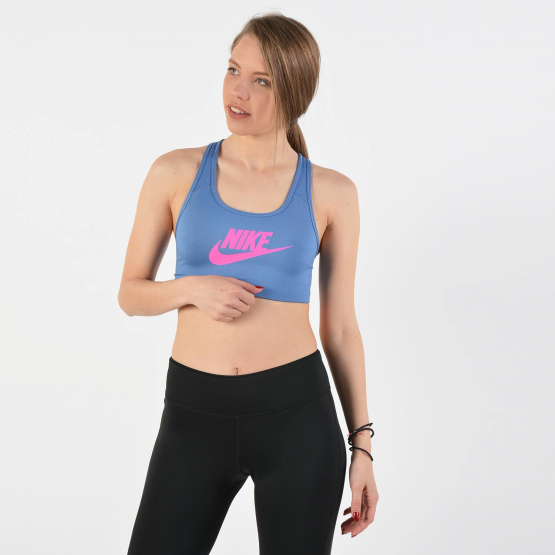 Nike Women's Swoosh Futura Bra - Γυναικείο Μπουστάκι