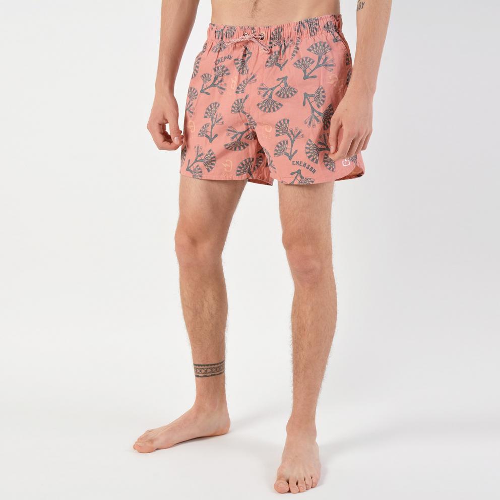 Emerson Men's Printed Volleyshorts Pigment Wash