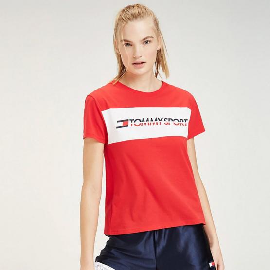 Tommy Sport Color-Blocked Logo T-Shirt