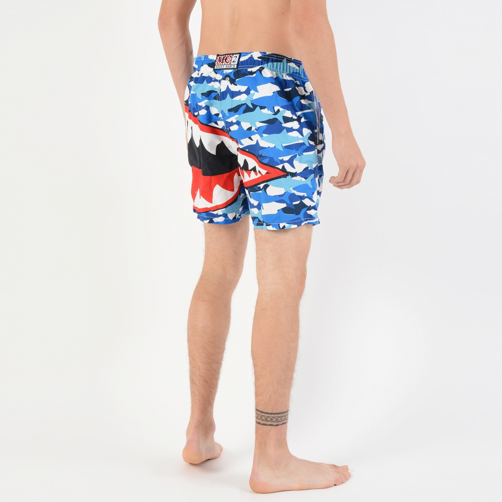 MC2 Classic Placed Print Swim Short - Ανδρικό Μαγιό