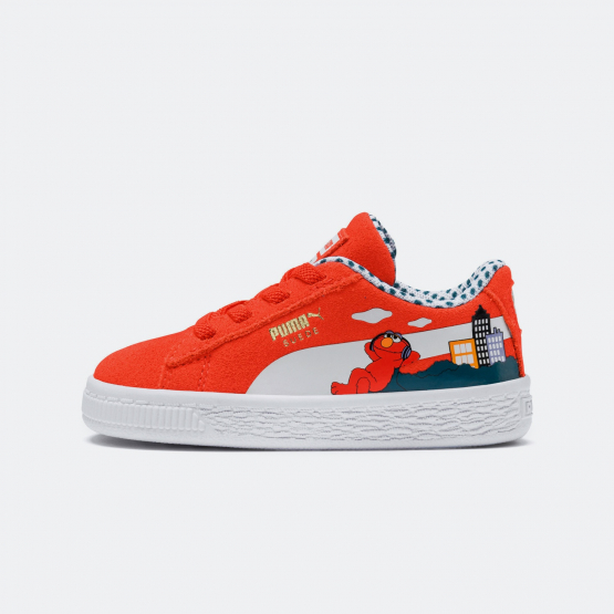 Puma Sesame Street Suede 50 - Βρεφικά Παπούτσια