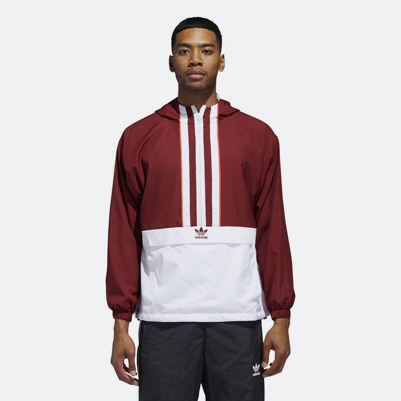 adidas Originals 3-Stripes Authentic Windbreaker - Ανδρικό Αντιανεμικό (9000023063_34227)