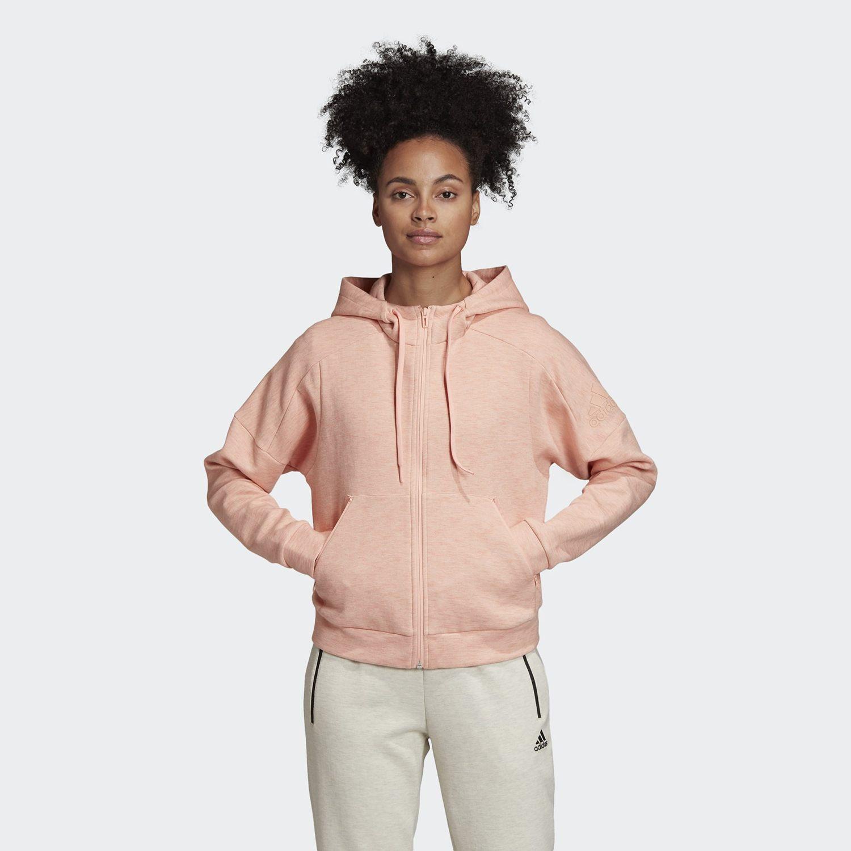 adidas Performance ID Melange Hoodie - Γυναικεία Ζακέτα (9000033544_39867)
