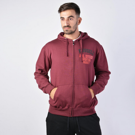 Russell ATHL.DIVISION-ZIP THROUGH HOOD