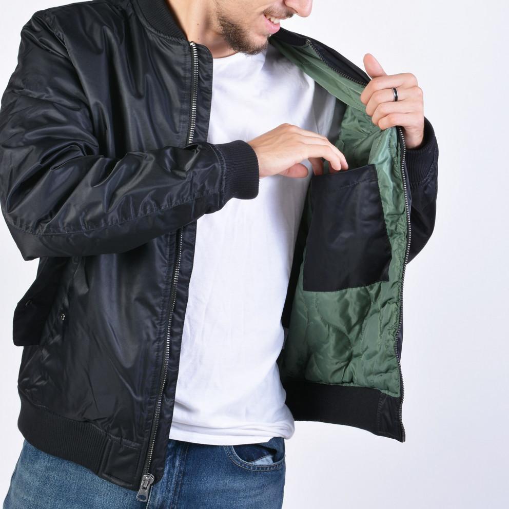 Body Action Men Vintage Bomber Jacket