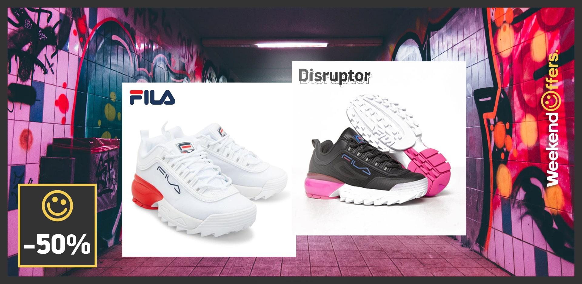 Fila Disruptors