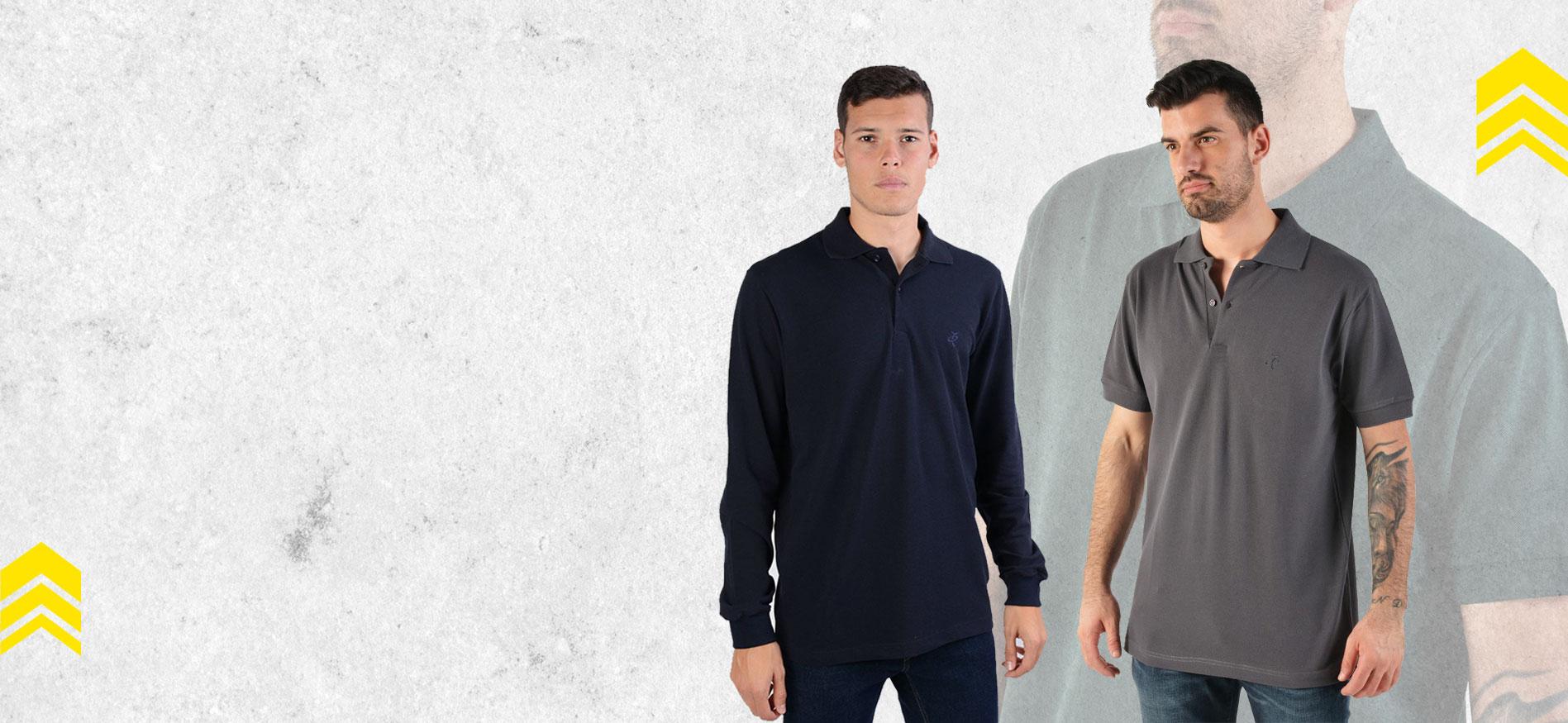 Αντρικές Polo Μπλούζες με 10€