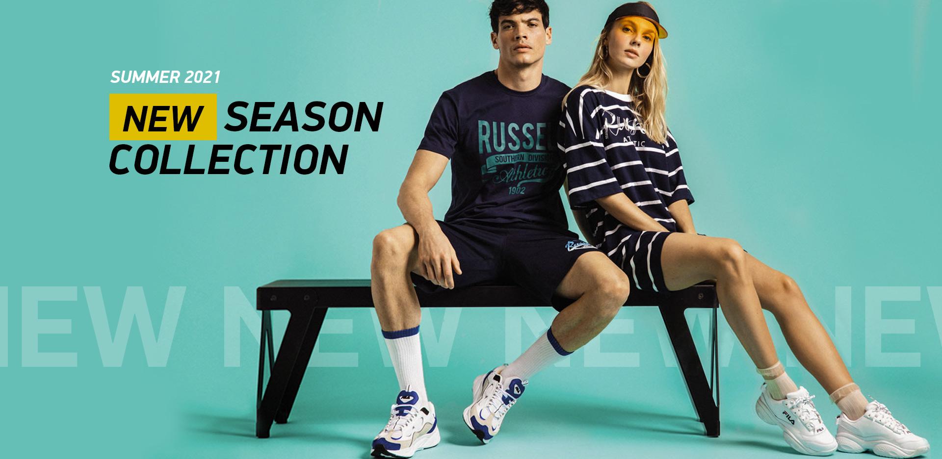 T-shirts & Shorts New Arrivals