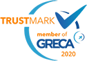 Trustmark badge for SportsFactory